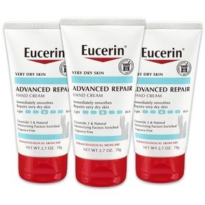 Eucerin Advanced Repair Hand Cream - Fragrance Fre